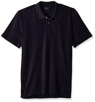 Velvet by Graham & Spencer Men's Willis Pique Polo with high Low Hem