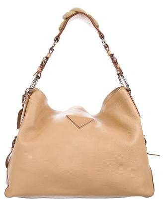 Prada Vitello Daino Rope Hobo