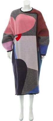 Issa Wool Colorblock Coat