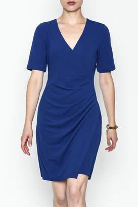 Jade Faux Wrap Dress