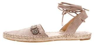 Belle by Sigerson Morrison Pointed-Toe Espadrille Flats