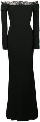 Alexander McQueen strapless empire dress