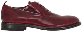 Moma Brushed Leather Derby Lace Up Shoes