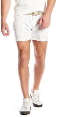 Parke & Ronen Holler Patterned Shorts