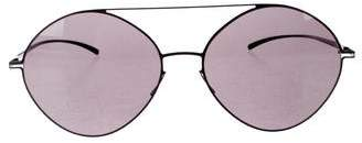 Maison Margiela Mykita + Round Top Bar Sunglasses