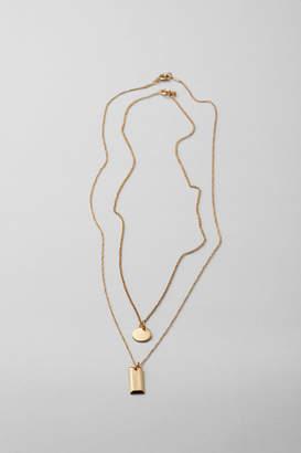 Weekday Mizar Necklace - Gold