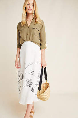 Tracy Reese Hope for Flowers by Mayson Midi Skirt