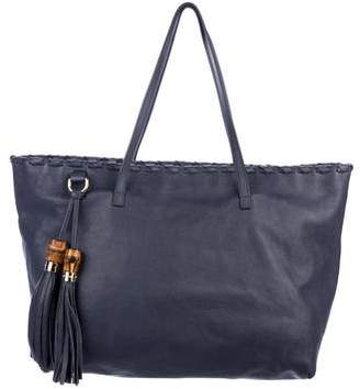Gucci Large Bamboo Tassel Tote