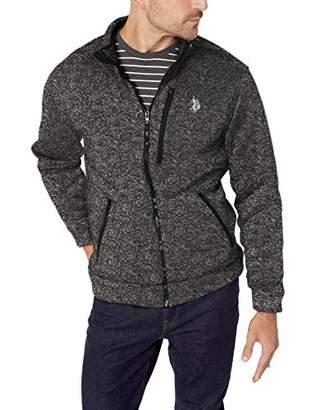 U.S. Polo Assn. Men's Bonded Sweater Fleece Jacket