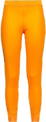 adidas by Stella McCartney (アディダス バイ ステラ マッカートニー) - Adidas By Stella Mccartney クロップド メッシュトリム ストレッチ レギンス