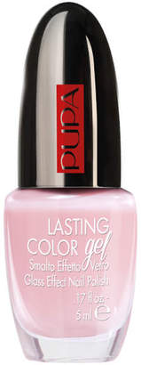 PUPA Lasting Colour Gel Gloss Effect Talc Pink Nail Polish