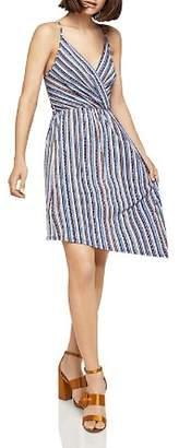 BCBGeneration Striped Asymmetric Dress