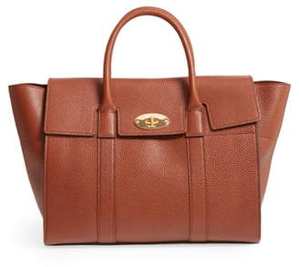 Mulberry Bayswater Calfskin Leather Satchel