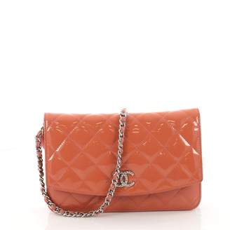Chanel Wallet on Chain patent leather handbag
