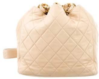 Chanel Quilted Chain-Link Shoulder Bag gold Quilted Chain-Link Shoulder Bag