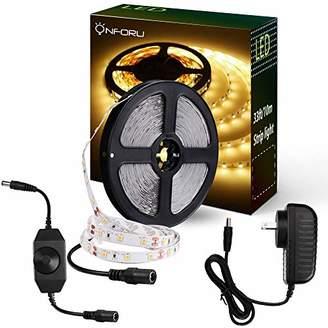 Onforu 33ft Dimmable LED Strip Lights Kit