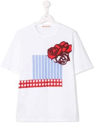 Marni TEEN printed T-shirt