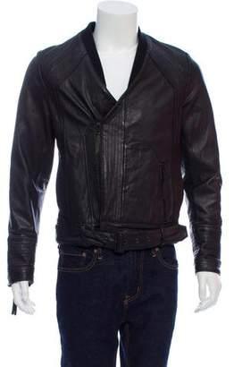 Robert Geller 2010 Leather Bomber Jacket