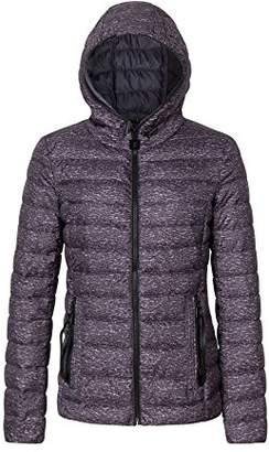 Bellivera Womens Puffer Winter Jacket Padding Jackets for Women Lightweight Quilted Coat Hooded Zipper Pockets Cotton Filling Coats