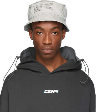 C2H4 Grey Instruction Bucket Hat