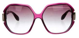 Marc Jacobs Gradient Oversize Sunglasses