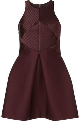 Halston structured cocktail dress