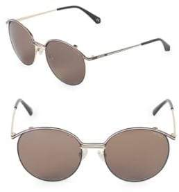 Balmain 55MM Round Sunglasses