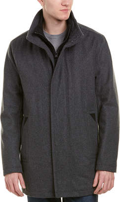 Andrew Marc Coyle Wool-Blend Coat