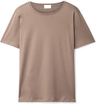 Handvaerk - Pima Cotton-jersey T-shirt - Sand