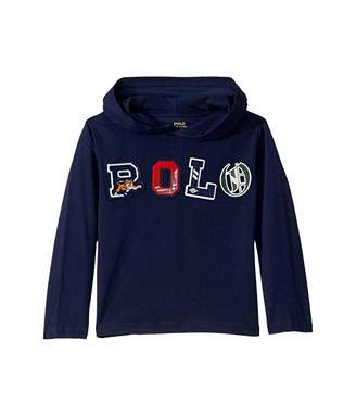 Polo Ralph Lauren Polo Cotton Jersey Hooded Tee (Little Kids/Big Kids)
