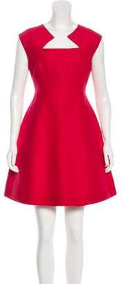 Halston A-Line Mini Dress