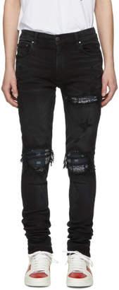Amiri Black Bandana MXI Jeans