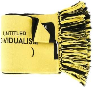 Ground Zero logo 2-side scarf