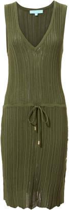 Melissa Odabash Arianna V-Neck Mini Dress