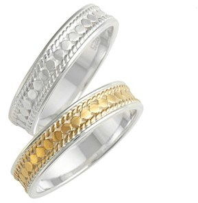 Women's Anna Beck Two-Tone Stacking Rings (Set Of 2) $200 thestylecure.com
