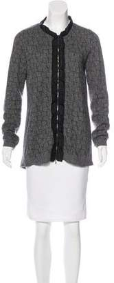 Marni Mohair Zip-Accented Sweater