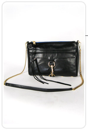 Rebecca Minkoff Morning After Clutch in Black
