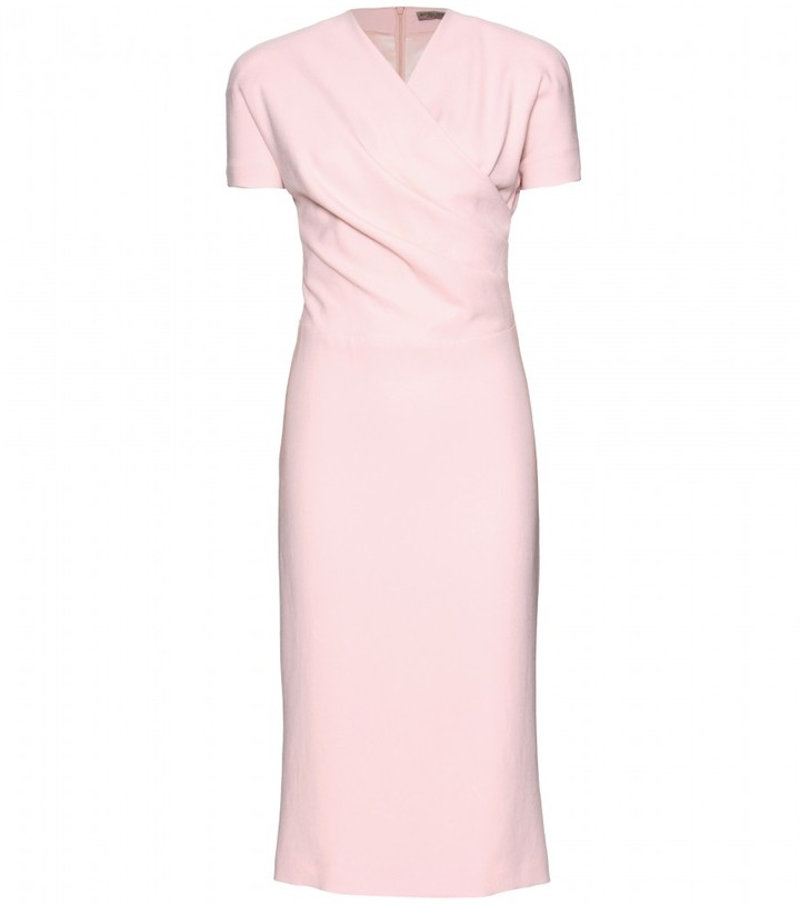 Bottega Veneta DRAPED CREPE DRESS