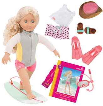 Our Generation Deluxe Coral Doll with Book
