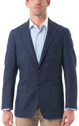 Blend of America VERNO Men's Wool and Cotton Herringbone Classic Fit Blazer