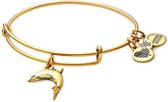 Alex and Ani Seaside Dolphine Expandable Bracelet