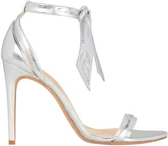 Alexandre Birman Clarita PVC Silver Leather Sandals