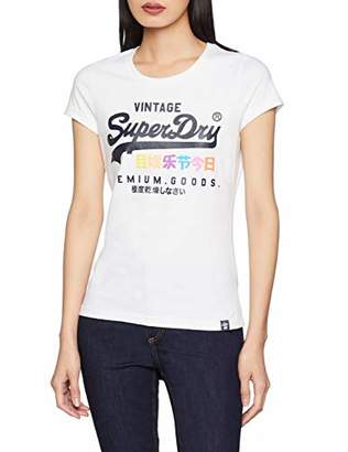 Superdry Women's Premium Goods Puff Entry Tee Kniited Tank Top,(Manufacturer Size: 12.0)