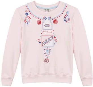 Kenzo 8-12Y Kristen Necklace Sweater