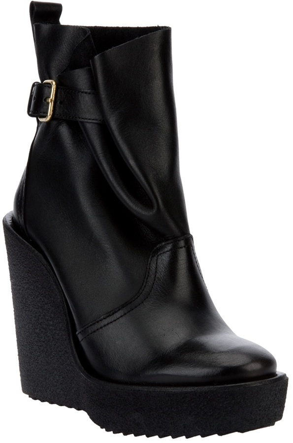 Pierre Hardy Wedged Platform Ankle Boot