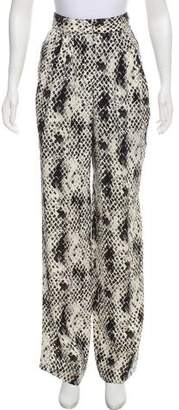 Ungaro Printed High-Rise Pants