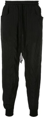Song For The Mute tapered track trousers