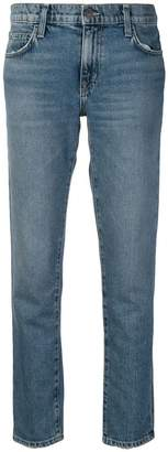 Current/Elliott straight-leg jeans