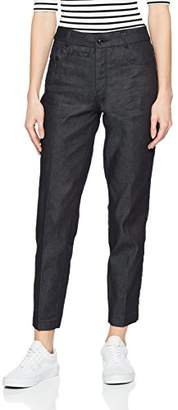 G Star Women's D-STAQ Mid Skinny Ankle Chino Wmn Trouser, Blue Denim 001, W29/L34