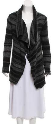 360 Cashmere Draped Wool Cardigan